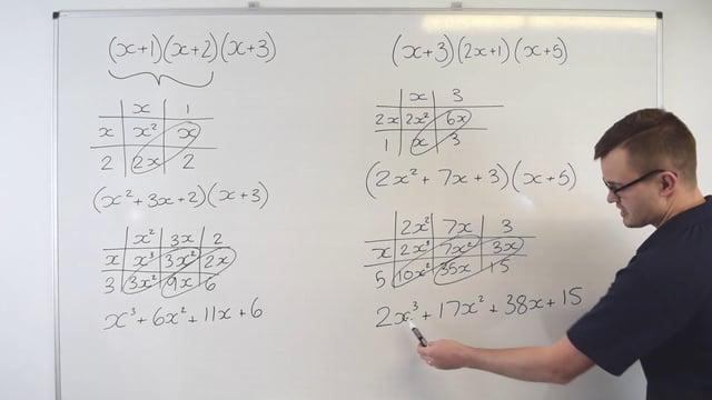 Expanding binomials