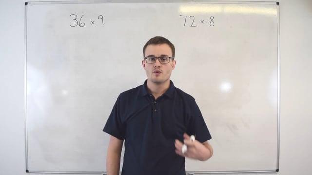 Multiplying numbers (Grid method)
