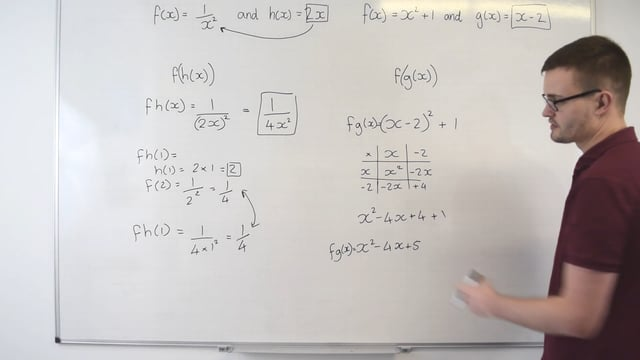 Algebraic composite functions