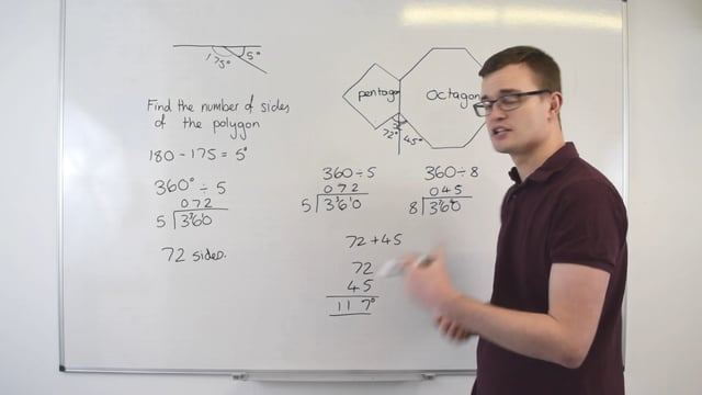 Angles in Polygons – Problem solving
