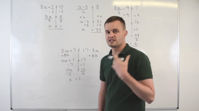 Method for solving basic equations